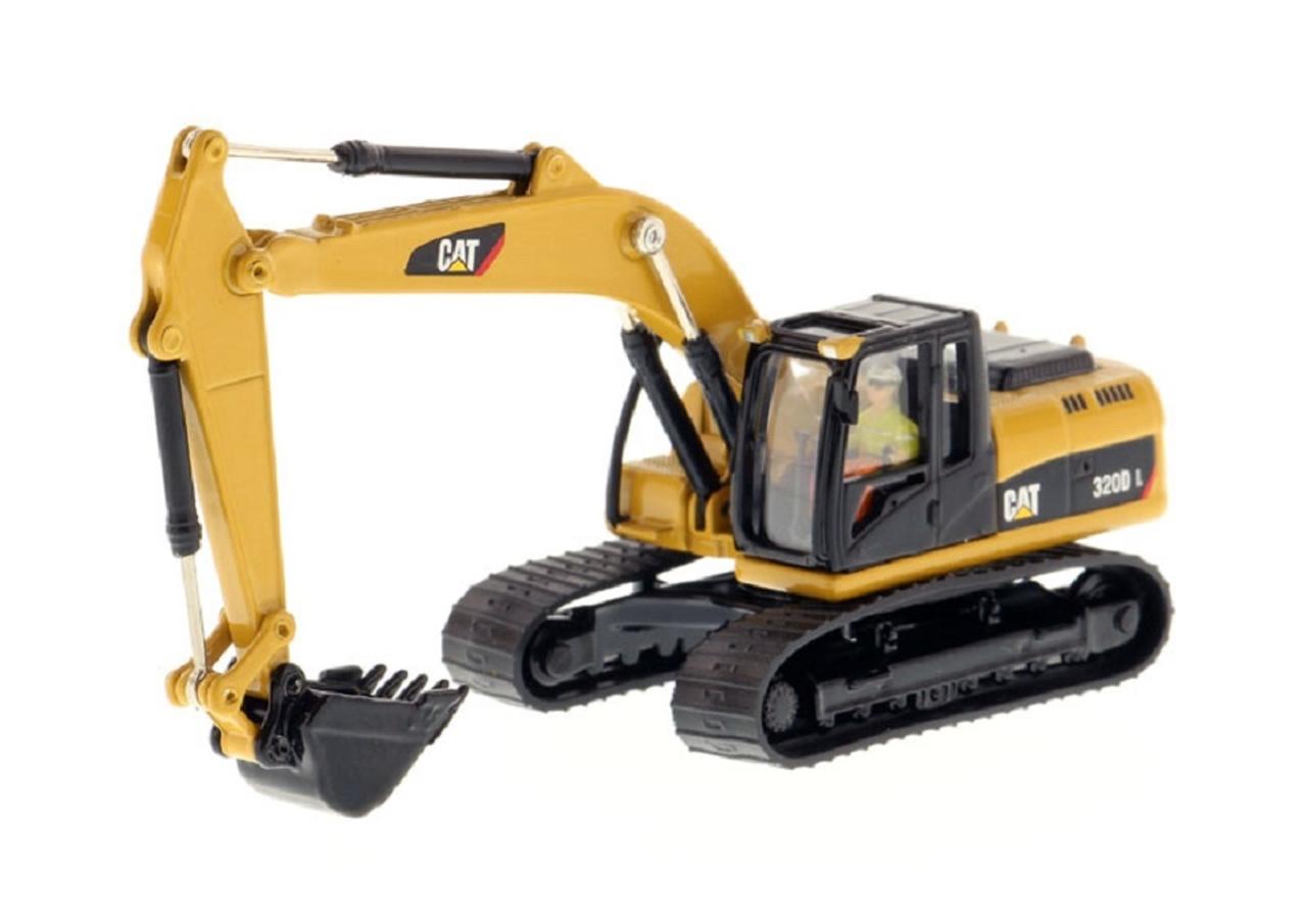 diecast masters ho 85262 cat 320d l hydraulic excavator high line series
