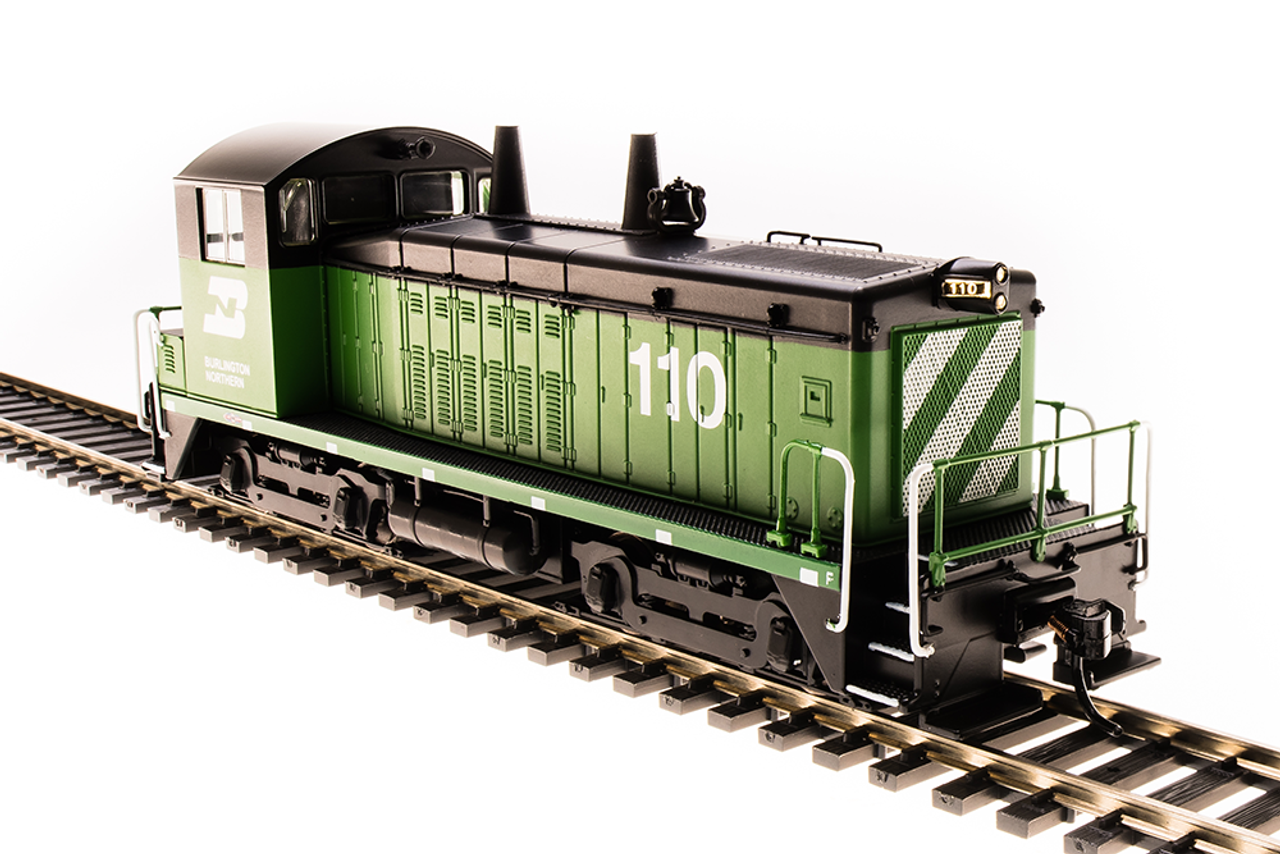 Broadway Limited Imports HO 4720 EMD SW7 Switcher, Burlington Northern #110  (Paragon3 Sound/DC/DCC Equipped)