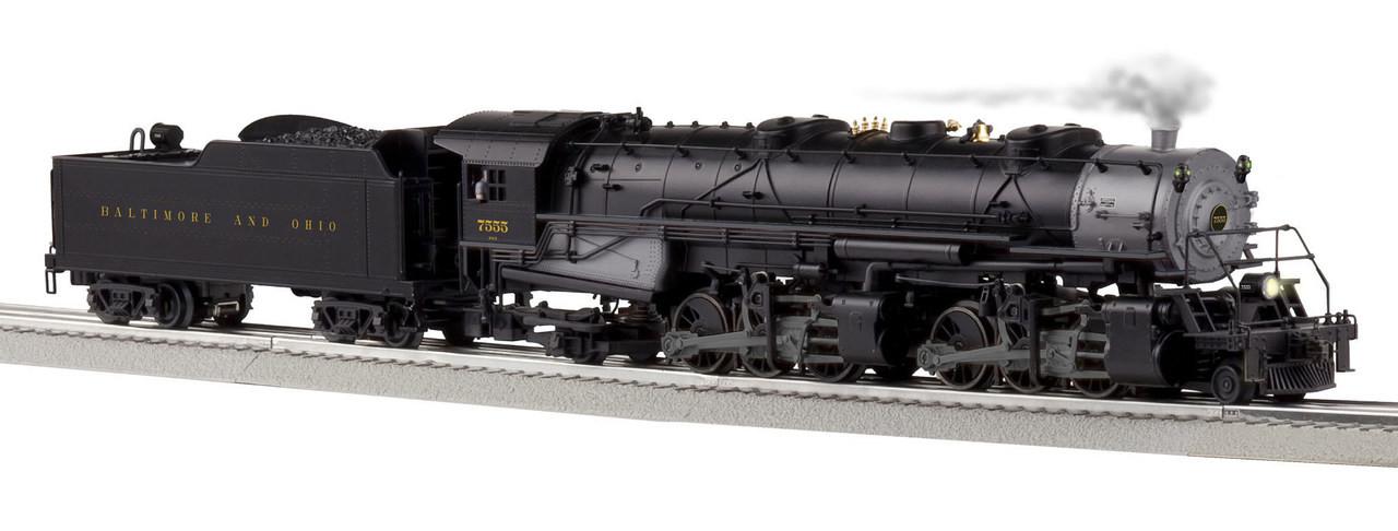 Lionel O 6-85178 Legacy 2-6-6-2 Steam Engine, Baltimore and Ohio #7555