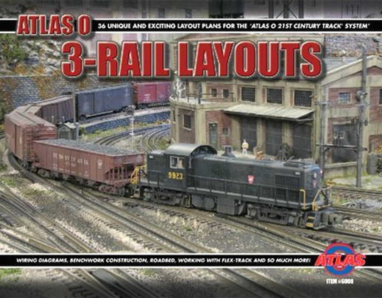 Atlas O 6008 Thirty-Six O Scale Layout Track Plans