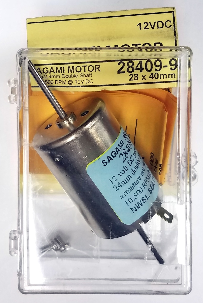 NWSL 28409-9 Double Shaft Sagami Motor (24 x 2 4mm)