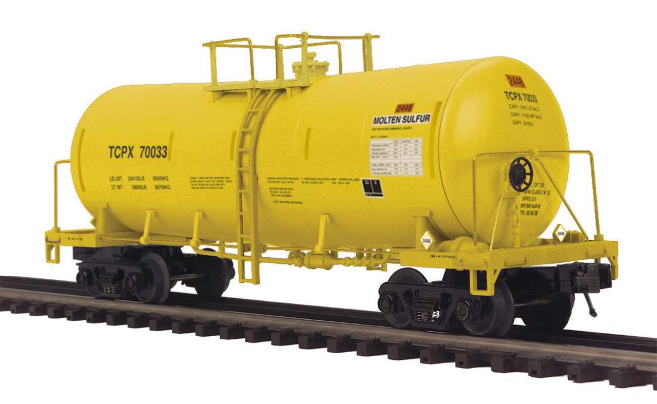 MTH Premier O 20-96280-70061 Funnel Flow Tank Car, Trinity Industries #70061