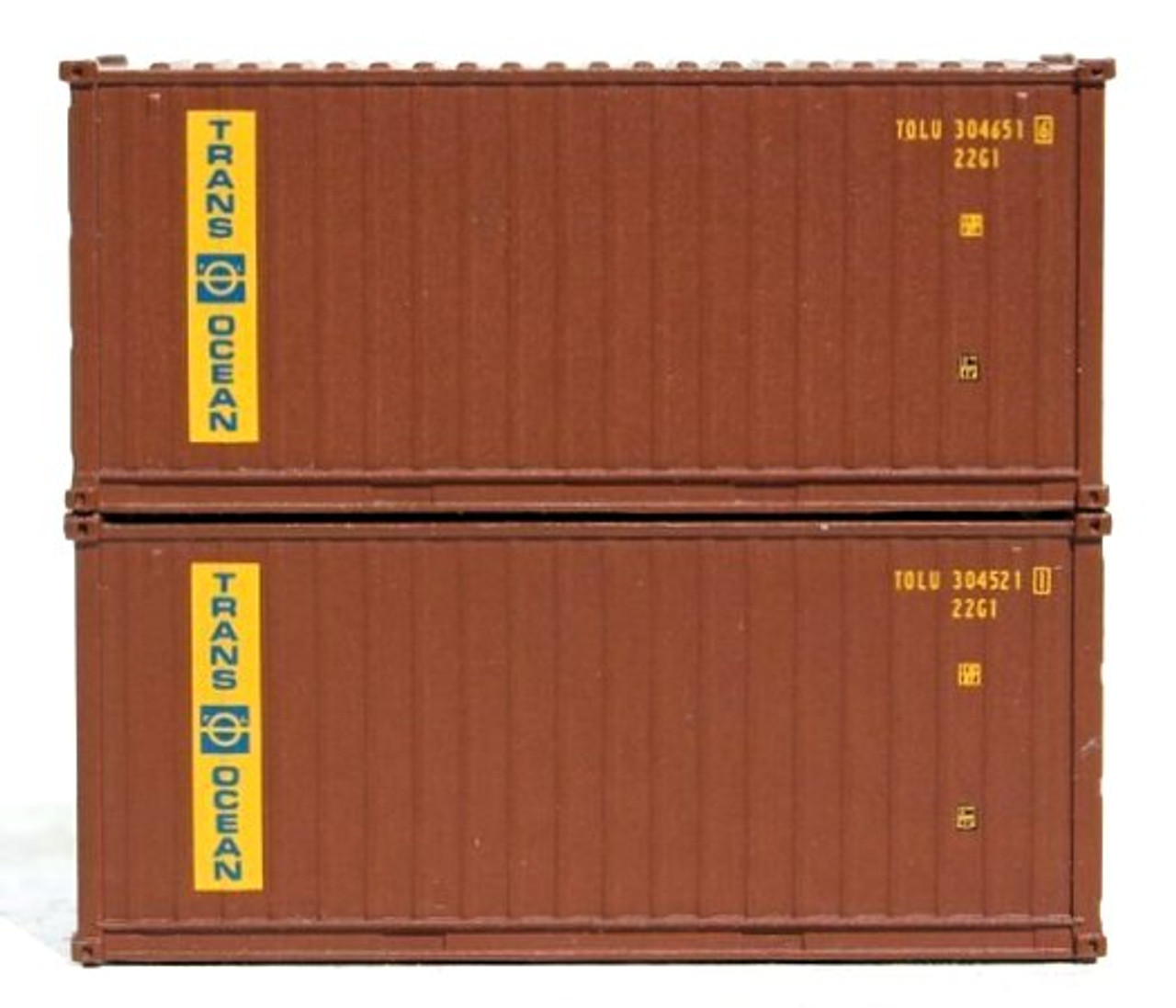 height containers with Magnetic system 20/' Std JTC N ONE