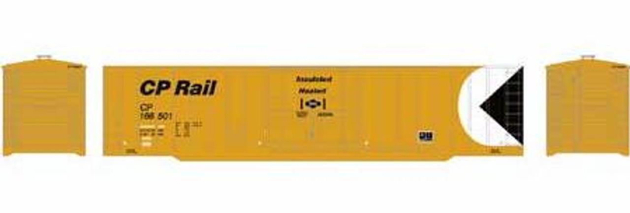 Roundhouse HO 40140 50' Outside Braced Plug Door Box Car, CP Rail #166527