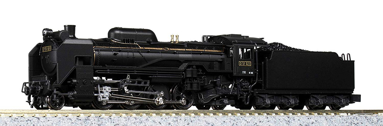 Kato N 2016-9 Gauge D51 Standard Form Steam Locomotive