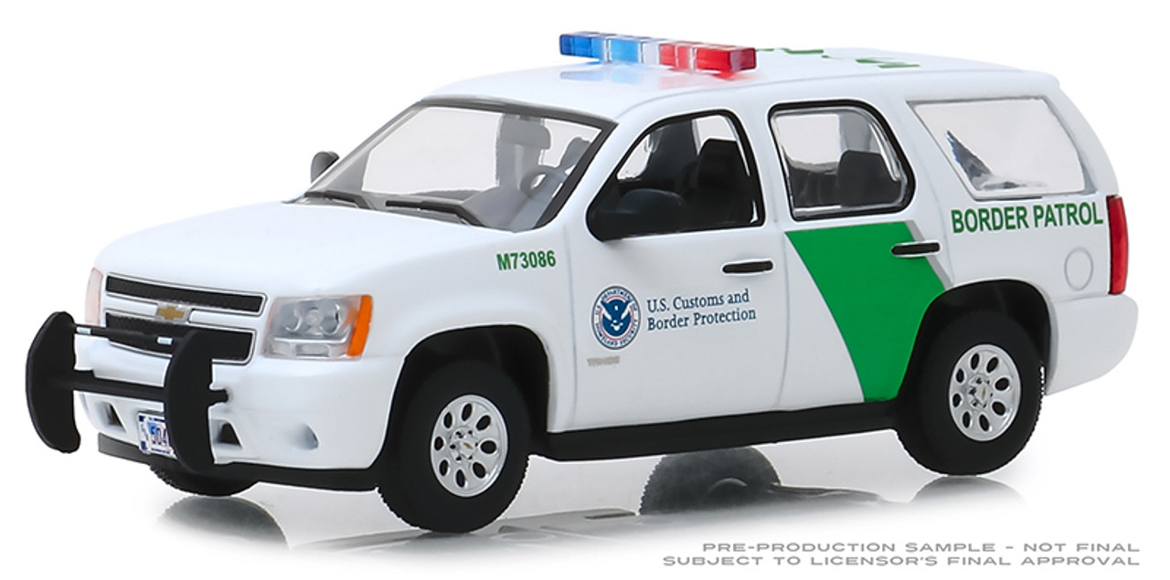 GreenLight 86163 1 43 2010 Chevrolet Tahoe Customs /& Border Protection Border Patrol U.S