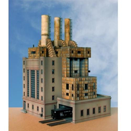 Custom Model Railroads HO 063 The Power Plant Building Kit