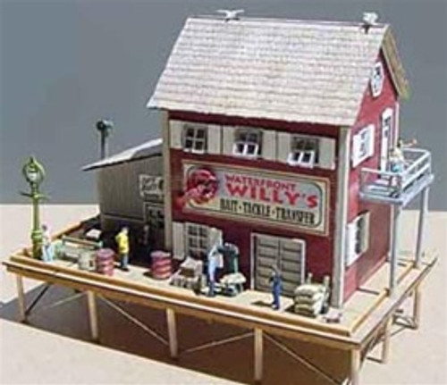 "Bar Mills Scale Model Works N 0921 ""Waterfront Willy's"" or ""Trackside Jack's"" Build It Either Way Kit"