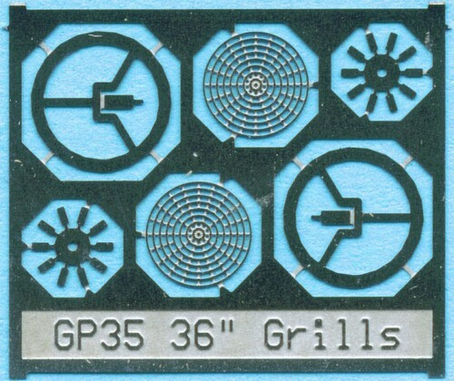 "BLMA N 88 36"" Fan Grill with No Center Plate"