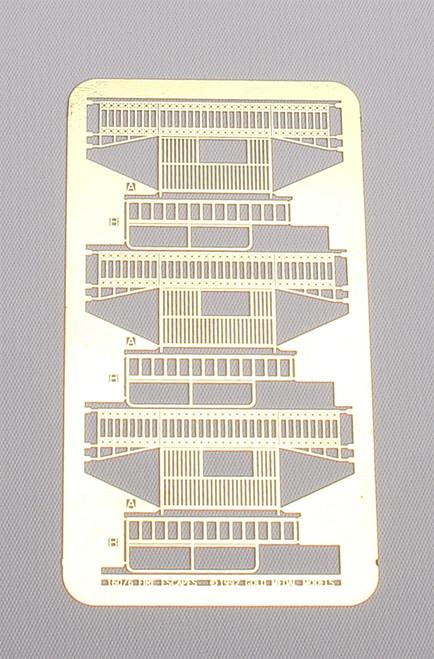 Gold Medal Models N 160-06 Fancy Fire Escape, Three Story Extender Set
