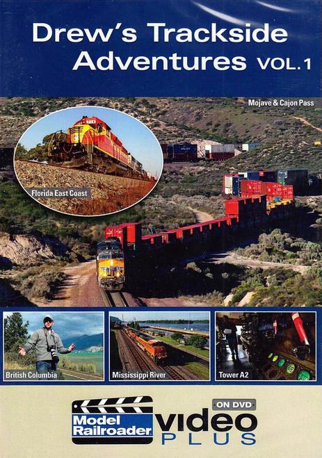 Kalmbach Publishing DVD 15308 Drew's Trackside Adventures, Volume 1 (d)