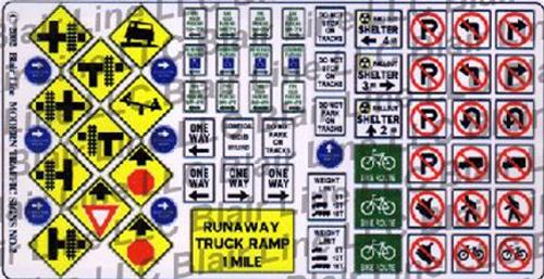 Blair Line N 047 Modern Traffic Signs