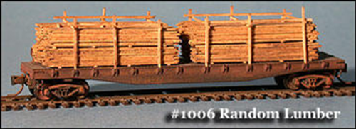 Fine N Scale 1006 Lumber Load, Random Width and Length (8)
