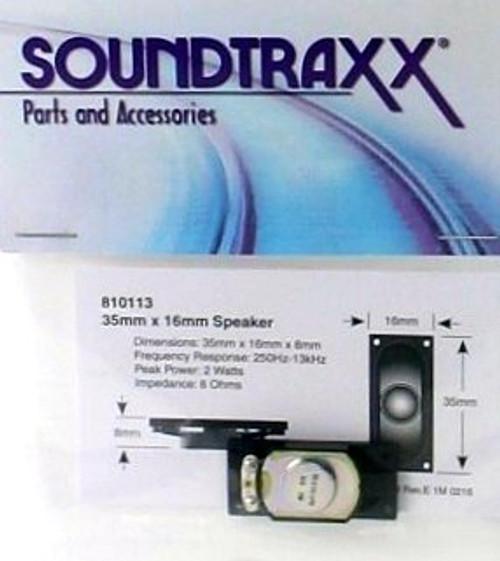 SoundTraxx 810113 Small Oval Speaker (35mm x 16mm)