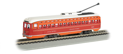 Bachmann HO 60502 PCC Streetcar, Pacific Electric #5023 (DCC and Sound Equipped)