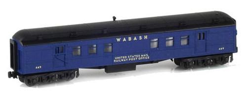 American Z Line Z 71911-2 Heavyweight Railway Post Office Car, Wabash #452
