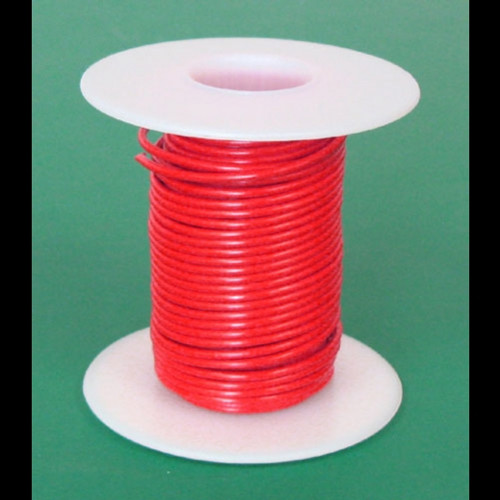 A.E. Corporation 18RD-25S 18 GA Red Hook-Up Wire, Solid 25'