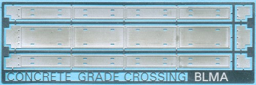 BLMA N 79 Modern Grade Crossing, Concrete Style
