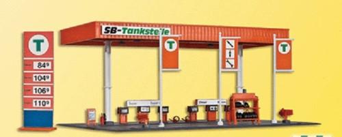 Kibri HO 38705 Modern Gas Pump Island SB-Tankstelle