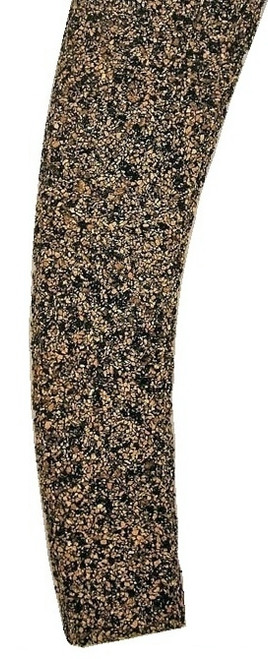 Itty Bitty Lines N 1347 Precut Cork Roadbed Section, Right Hand #6 Curved Turnout (2)