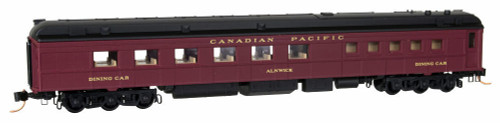 """Micro-Trains N 14600080 Heavyweight Diner Car, Canadian Pacific """"Alnwick"""""""