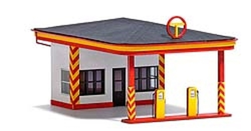 Busch HO 1419 Minol Gas Station Kit (d)