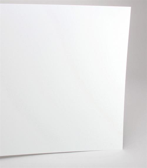 "Evergreen Scale Models 19010 12"" x 24"" Plain White Sheet .010"" (1)"
