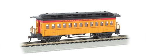 Bachmann Silver Series HO 13406 1860-1880 Coach, Western and Atlantic Railroad