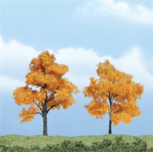 "Woodland Scenics TR1604 Premium Fall Maple Tree, 3"" to 2.5"" (2)"