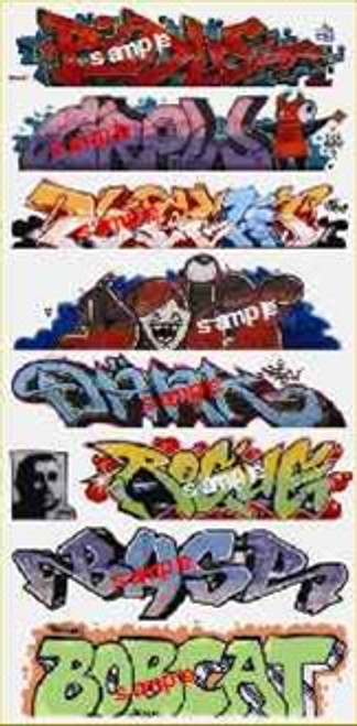 Blair Line N 1258 Graffiti Decals Mega Set #9
