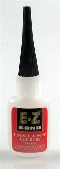 E-Z Bond Instant Glue Thin 0.5 oz.