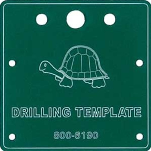Circuitron 800-6190 Drilling Template for Tortoise
