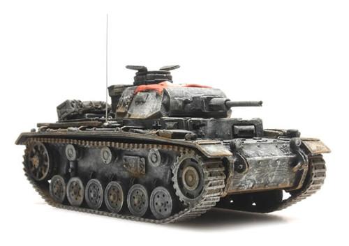Artitec HO 387.314 WWII Panzer III Version H Winter, German