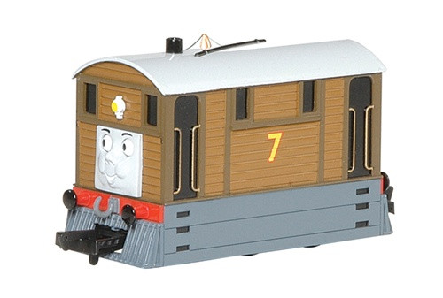 Bachmann HO 58747 Toby the Tram Engine with Moving Eyes (Thomas & Friends Series)