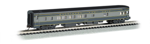 "Bachmann N 14353 85' Smoothside 3-2 Observation Car, Baltimore and Ohio ""Washington"""