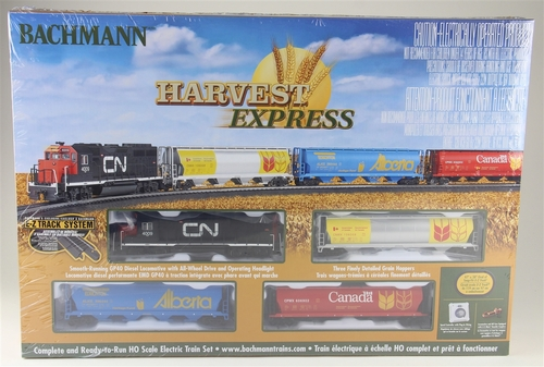 Bachmann HO 00735 Harvest Express Train Set with E-Z Track