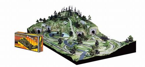 Woodland Scenics HO ST1483 Grand Valley Layout Kit