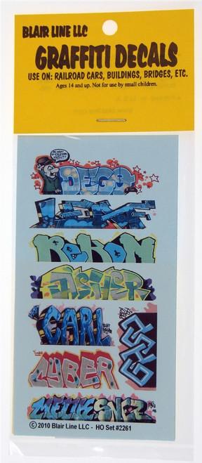 Blair Line HO 2261 Graffiti Decals Mega Set #12