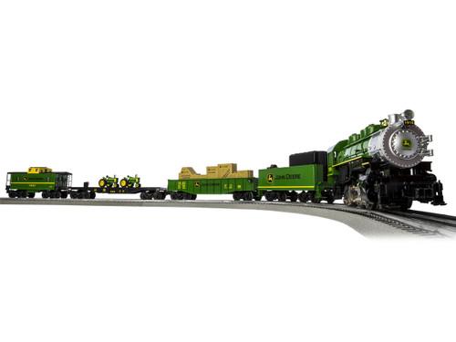 Lionel O 6-83286 John Deere Steam LionChief Train Set