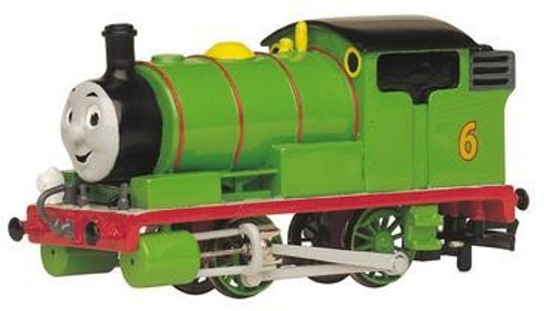 Percy the Small Engine with Moving Eyes from the Thomas and Friends collection.