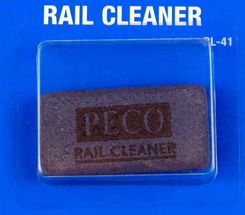 Peco PL-41 Abrasive Rubber Block Rail/Track Cleaner