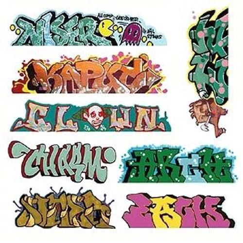 Blair Line HO 2248 Graffiti Decals Mega Set, Set #5 (8)