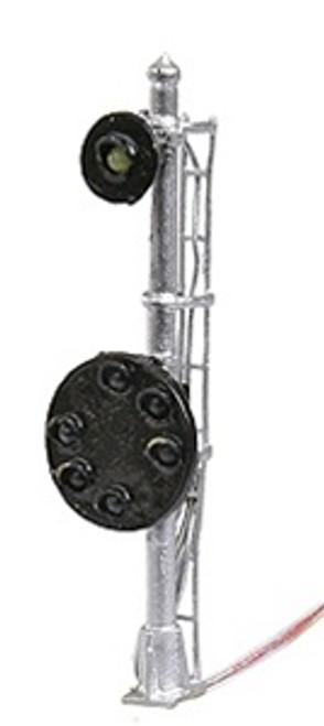 N.J. International HO 1215 B&O 6 Light Head/Mast with Marker Light