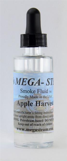 JT's Mega Steam O/HO APPLE Smoke Fluid 2 Oz. Bottle, Apple Harvest