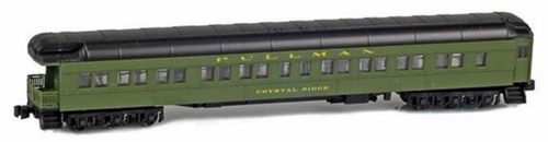 "American Z Line Z 71828-2 Pullman 3-2 Observation Car, Santa Fe ""Crystal Ridge"""