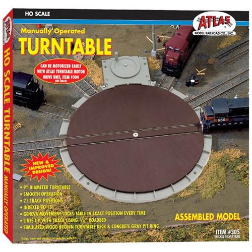 Atlas HO 305 Manual Turntable