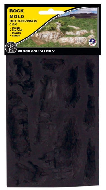 Woodland Scenics C1230 Outcroppings Rock Mold