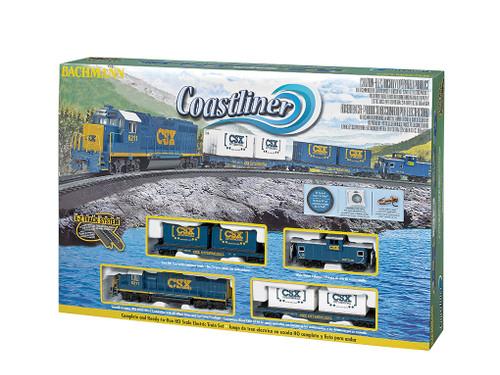 Bachmann HO 00734 Coastliner Set with E-Z Track