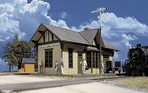Walthers Cornerstone HO 933-3532 Golden Valley Depot Kit