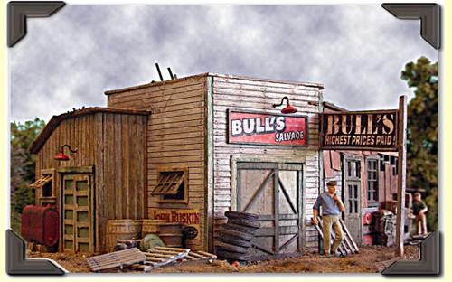 Bar Mills Scale Model Works HO 0452 Bull's Salvage Kit